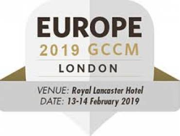 Meet us at Europe 2019 GCCM in London. You can find us at table b33 in Westbourne Suite.