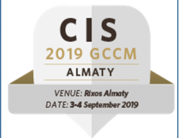 MEET US AT CIS 2019 GCCM in ALMATY